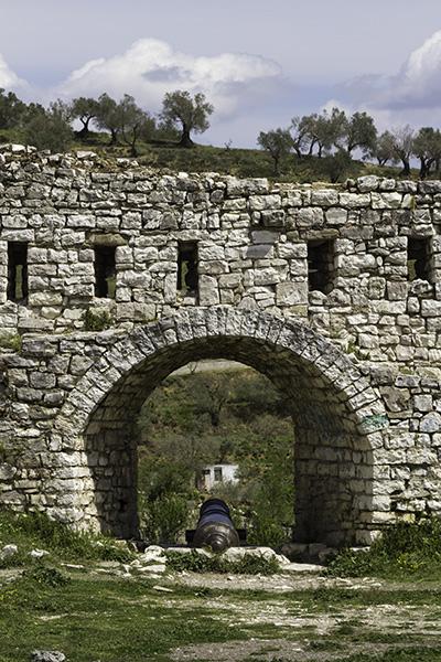 17 Canon in the Castle of Berat, Albania, in 2017