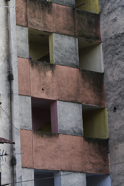 024 Building facade in Shkodra, Albania, 2015