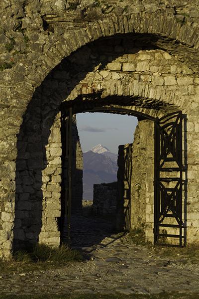 029 Passageway, Rozafa Castle of Shkodra, Albania, 2015