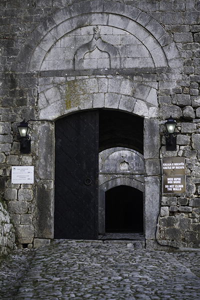 017 Entrance to Rozafa Castle of Shkodra, Albania, 2015