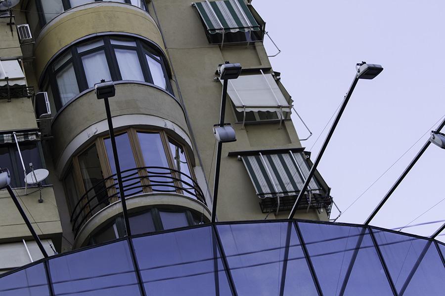 06 Architecture in Tirana, Albania, in 2015