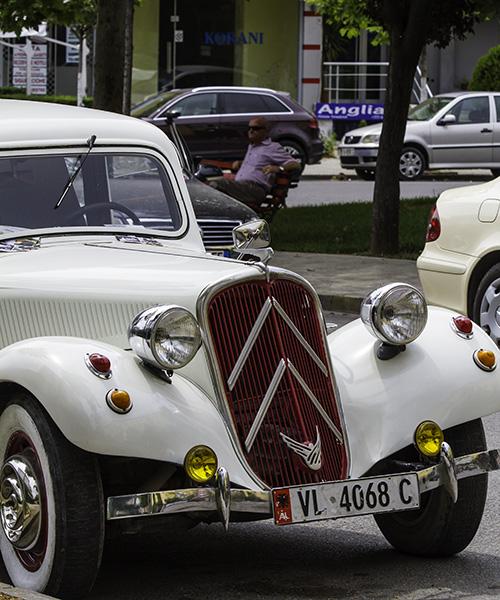 13 Vintage car in Tirana, Albania, in 2015