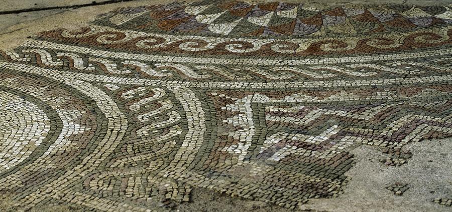 00  'Tirana Mosaic' in Tirana, Albania, in 2015
