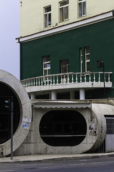 31 Local architecture in Tirana, Albania, in 2015
