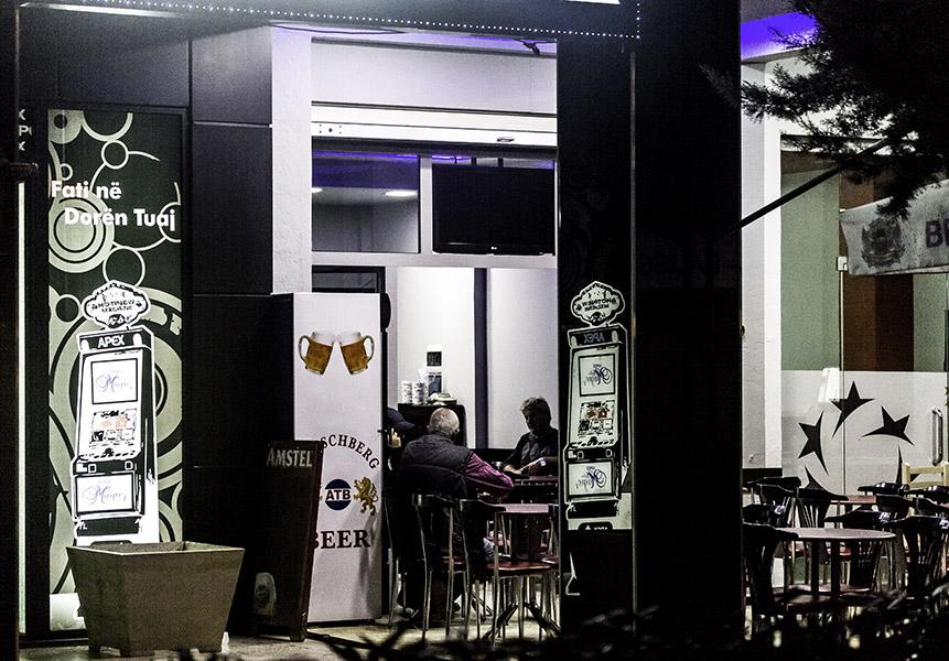 33 Cafe in Tirana, Albania, in 2014