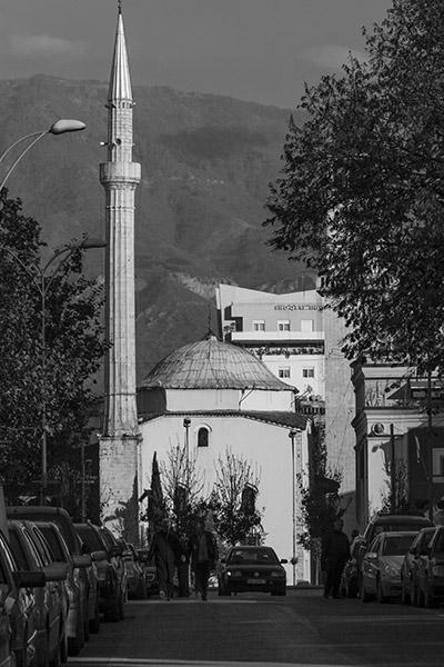 23 Et'hem Bey Mosque in Tirana, Albania, in 2014