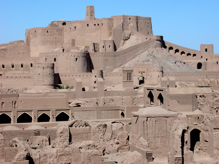Arg-e Bam (Bam Citadel), Iran: Citadel in background
