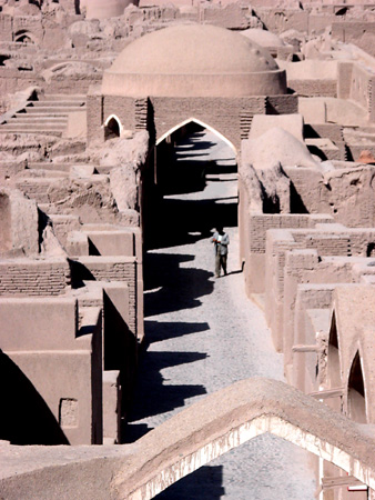Arg-e Bam (Bam Citadel), Iran: Detail, bazaar
