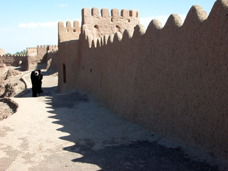 Arg-e Bam (Bam Citadel), Iran: Inside of rampart