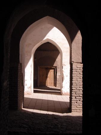 Arg-e Bam (Bam Citadel), Iran: Arcade in a mosque