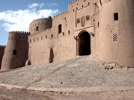 Arg-e Bam (Bam Citadel), Iran: Gate to the citadel