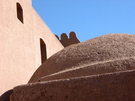Arg-e Bam (Bam Citadel), Iran: Detail of the citadel