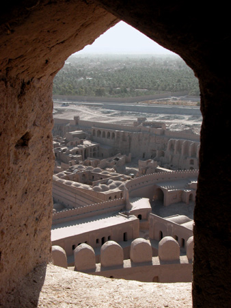Arg-e Bam (Bam Citadel), Iran: View of southwest from the citadel tower