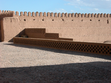 Arg-e Bam (Bam Citadel), Iran: Detail of citadel