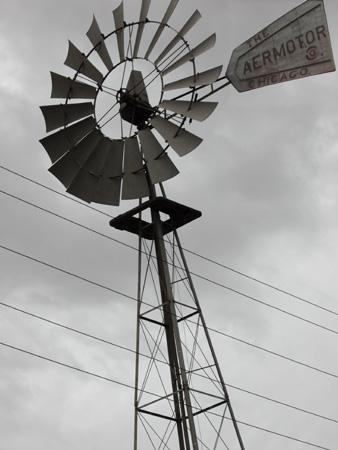 Windmill for a well Kerman, Iran