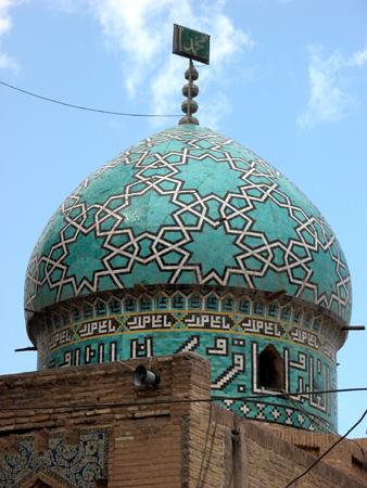 Subsidiary dome, Mausoleum of Moshtari-ye Moshtaq Ali Shah Kerman, Iran