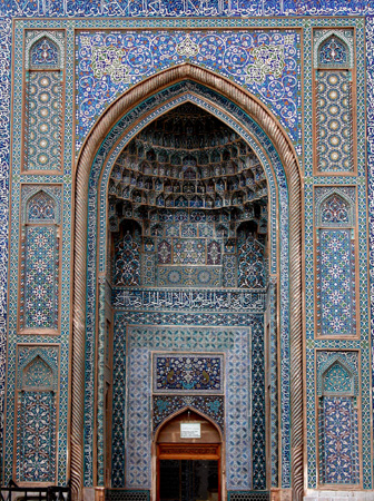 Iwan, Jameh Mosque Kerman, Iran
