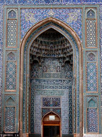 Iwan, Jameh Mosque Kerman, Iran