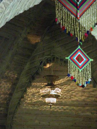 Detail, vaulting, Vakil Teahouse Kerman, Iran