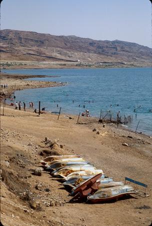 Beach, Dead Sea, Jordan