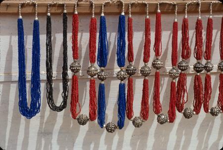 Necklaces Petra, Jordan