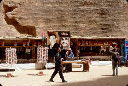 Concession stand Petra, Jordan