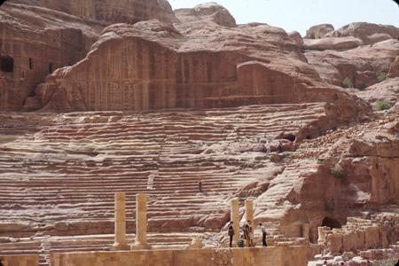 Theater Petra, Jordan