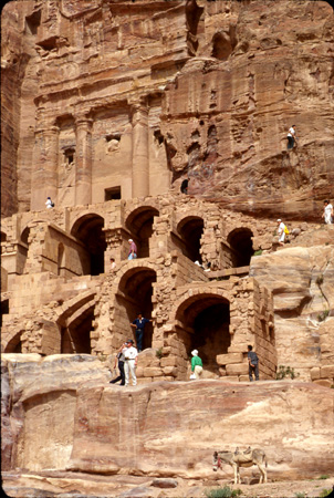 Urn Tombs, East Cliff (al-Khubtha) Petra, Jordan