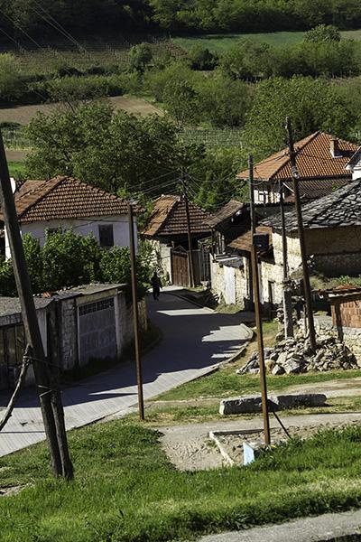 008 Landscape in Hoçë e Madhe/Velika Hoča, Kosovo