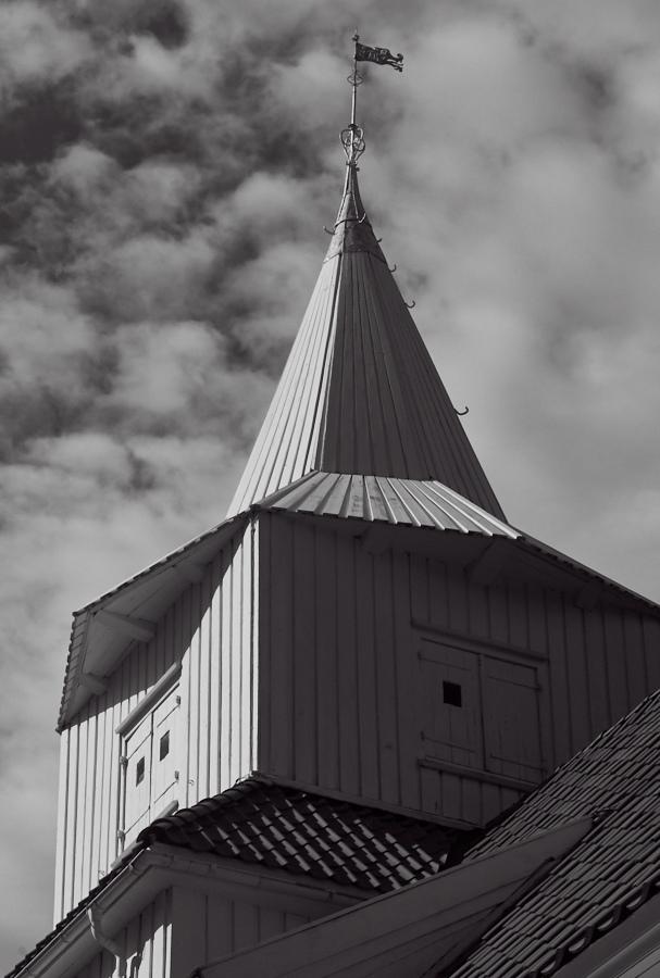 005 Steeple, Fjære Church -- Grimstad, Sørlandet, 2014
