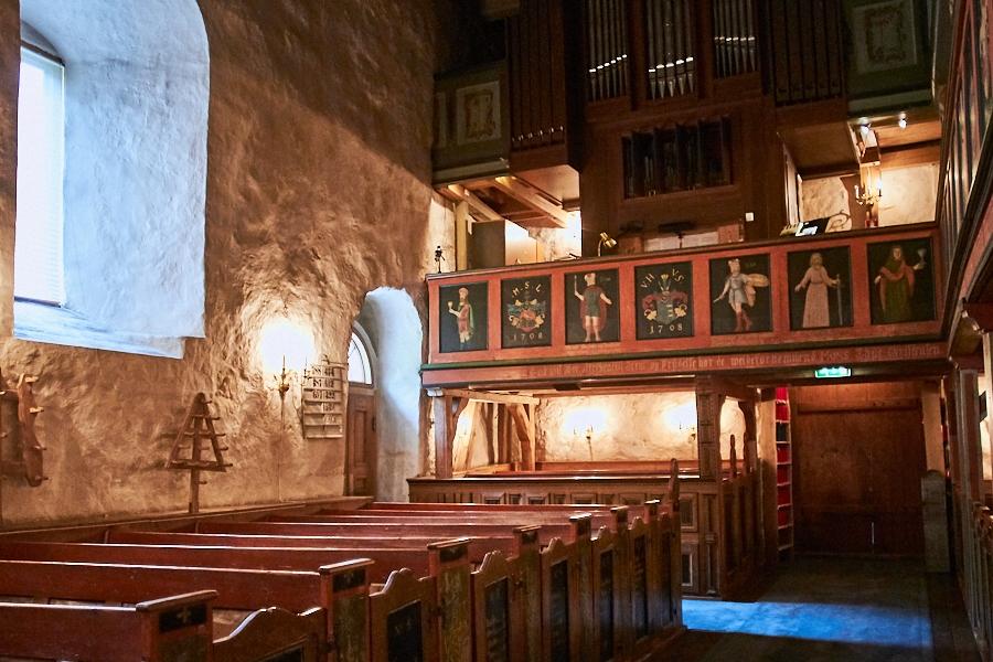 035 Interior, Fjære Church -- Grimstad, Sørlandet, 2015