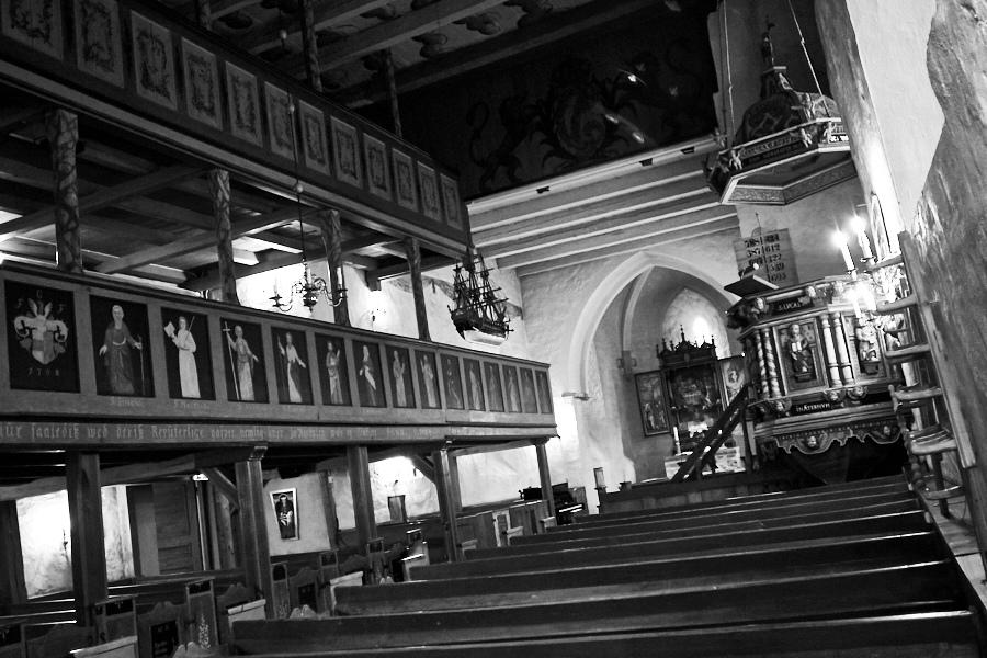 055 Interior, Fjære Church -- Grimstad, Sørlandet, 2015