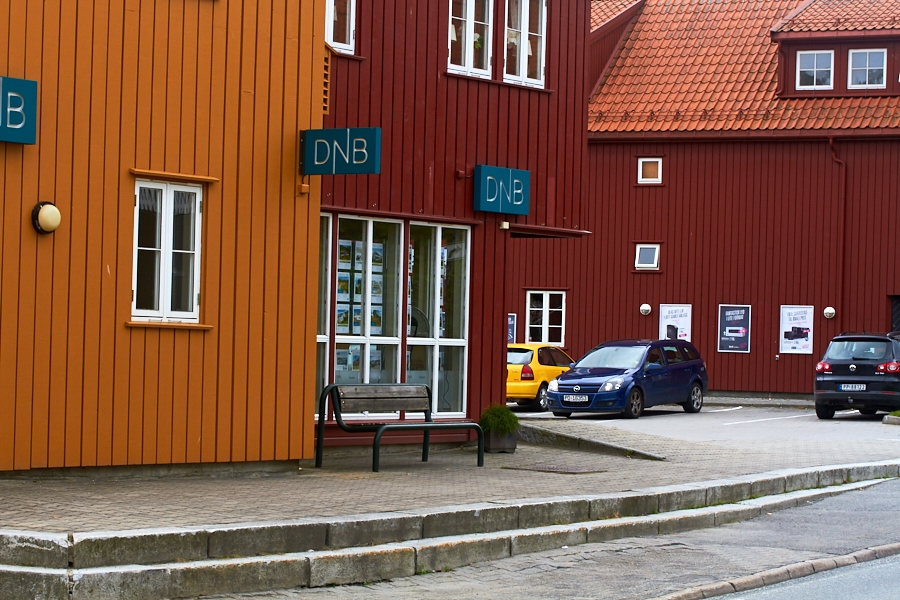 012 Street scene in Grimstad, Sørlandet, Norway