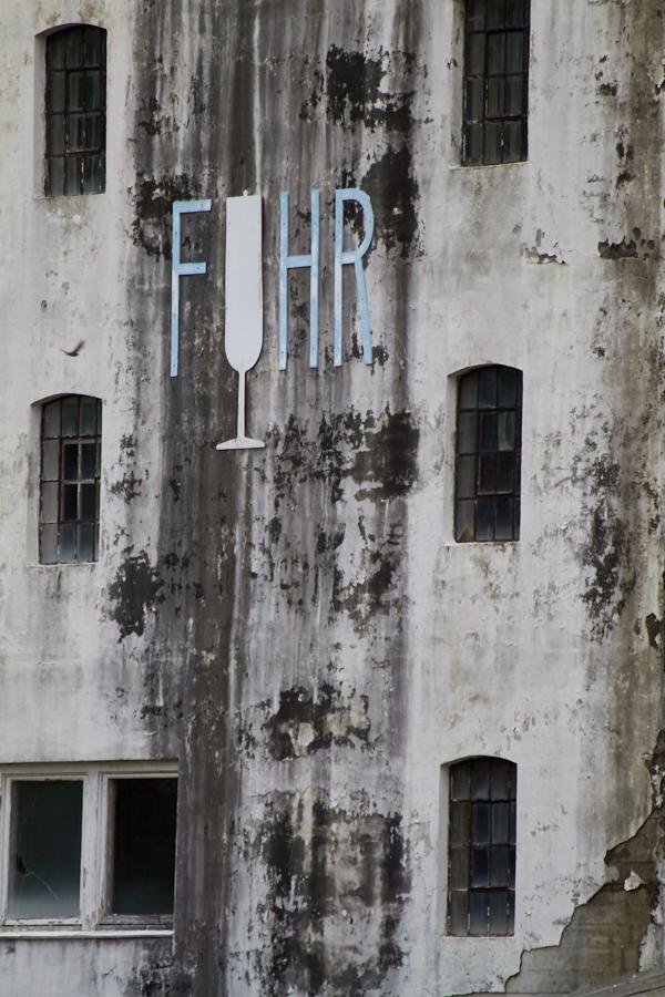 014 Wall, former factory -- Grimstad, Sørlandet (Southern Norway)