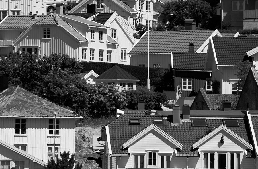 065 Coastal houses in Grimstad, Sørlandet, Norway