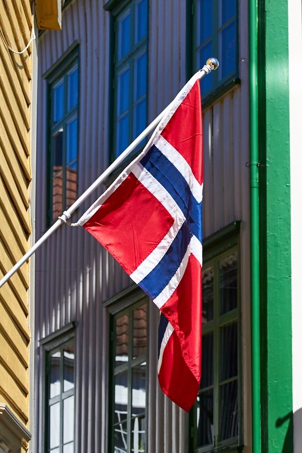 025 Street scene in Grimstad, Sørlandet, Norway