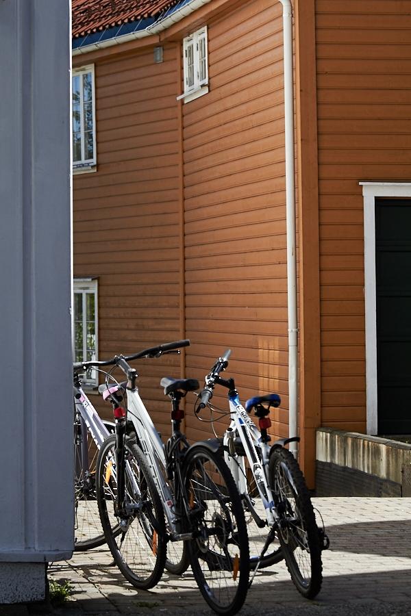 030 Street scene in Grimstad, Sørlandet, Norway