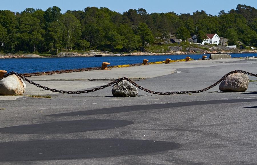 075 Quay in Grimstad, Sørlandet, Norway