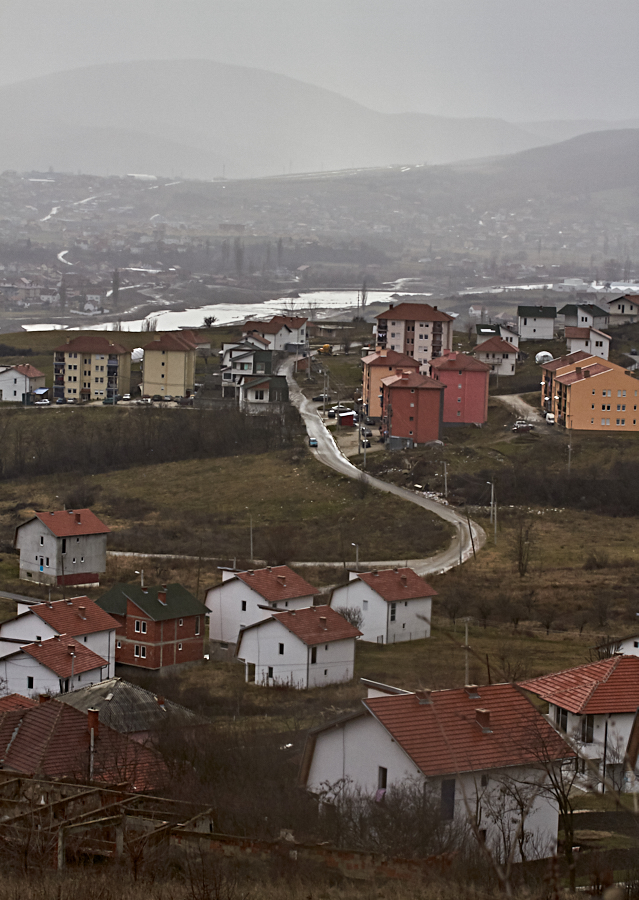Ibar River and surroundings -- North Mitrovica, Kosovo